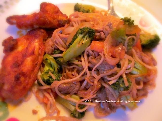 My Foodarama!: Drunken Noodles | asian food | Pinterest