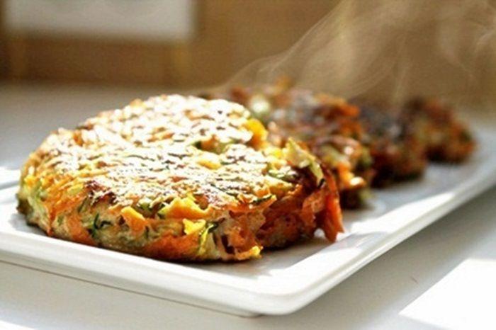 Sweet Potato & Zucchini Latkes - the nutritional epiphany