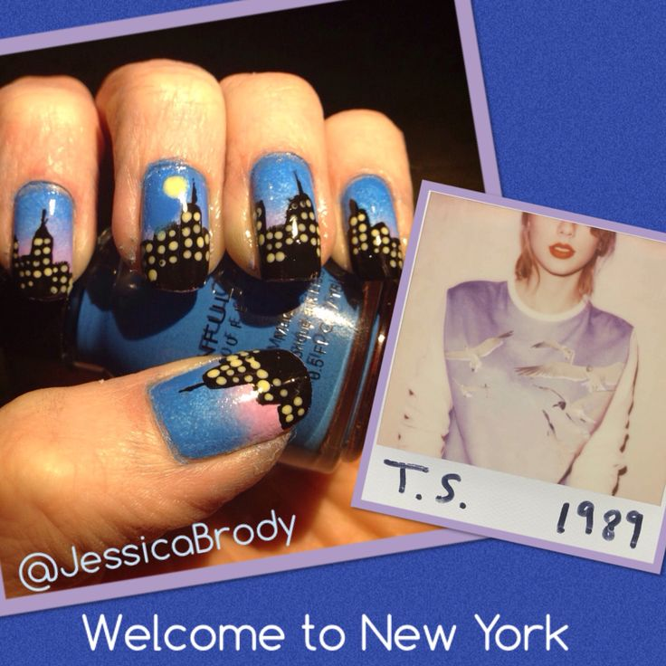 Nail art inspired by taylor