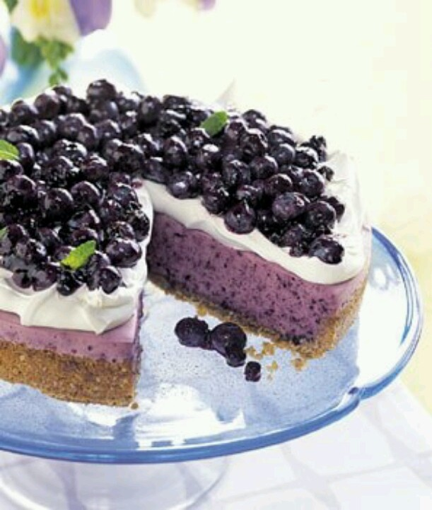 No-bake blueberry cheesecake | Food & Drink that I love | Pinterest