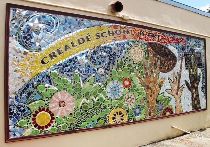 Pin by trish o 39 donnell on crealde school of art pinterest for Mural mosaic