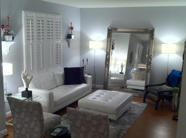 Modern glam living room living room pinterest for Living room pinterest