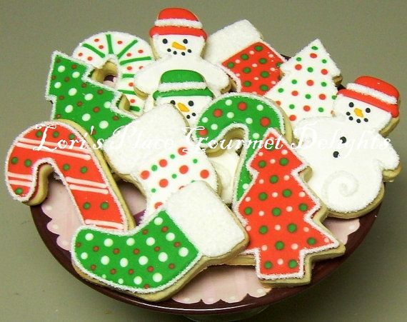 CHRISTMAS COOKIE MIX Christmas Decorated Cookies 1 by lorisplace, $33 ...