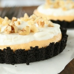 pumpkin cream oreo tarts | Good Eats | Pinterest