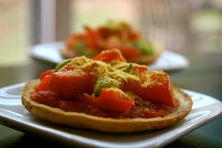 Socca Pizza Crackers | Food and Drink | Pinterest
