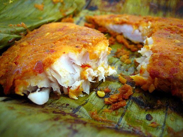 Ikan Panggang/Ikan Bakar Recipe (Grilled Fish Wrapped in Banana Leaves ...