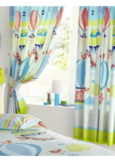 Nursery curtains playrooms : Playroom curtain idea