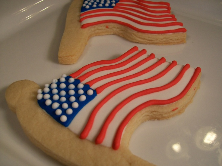 4th of july sugar cookie cake