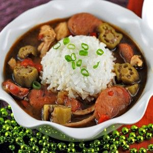 Chicken-Andouille-Sausage-Gumbo | Recipes to Cook | Pinterest