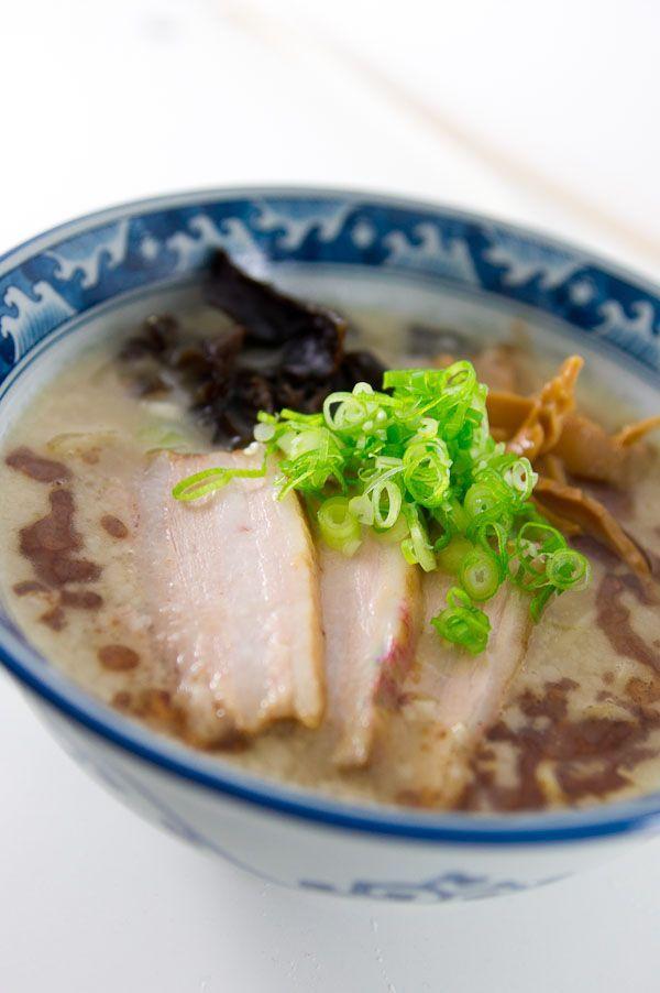 Tonkotsu Ramen Noodle Soup | World Dish | Pinterest