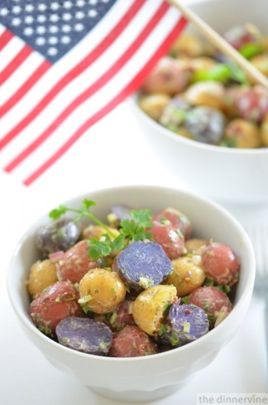 patriot potato salad | food | Pinterest
