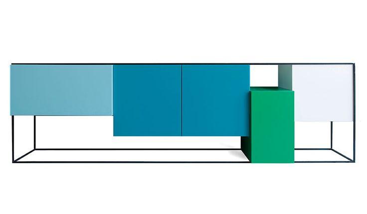 sideboard blau das beste aus wohndesign und m bel. Black Bedroom Furniture Sets. Home Design Ideas