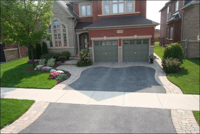 Front driveway ideas for the home pinterest Home driveway design ideas