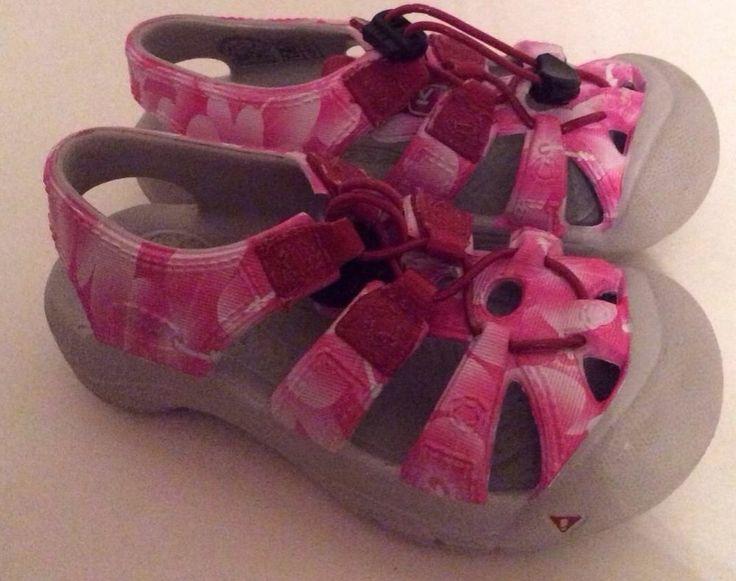 Keen Sunport Sandals 7 toddler Girls Pink Sport Summer Shoes #KEEN