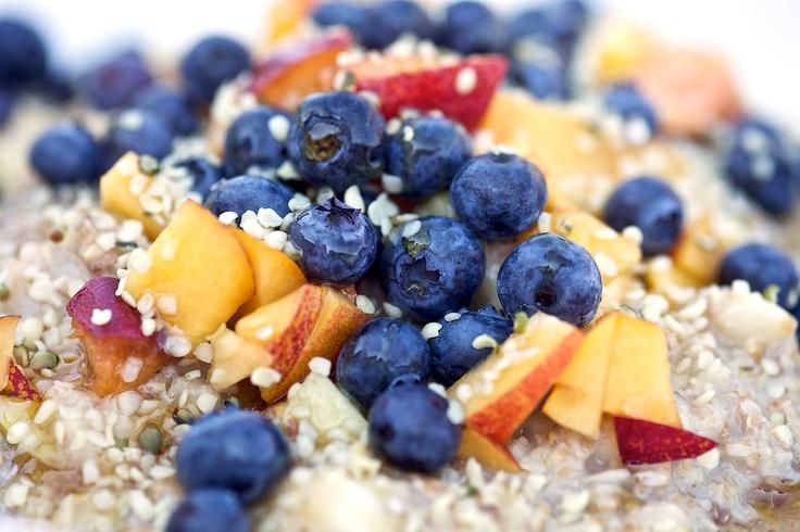 Blueberries 'N' Cream Amaranth Porridge Recipes — Dishmaps