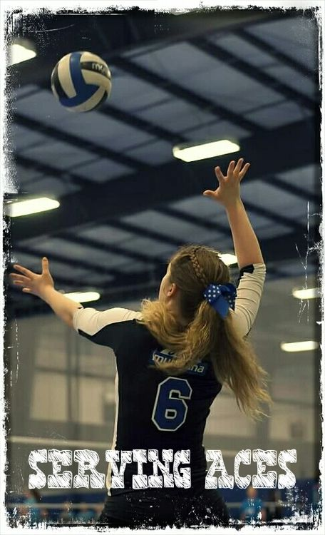 volleyball serving aces video colorist
