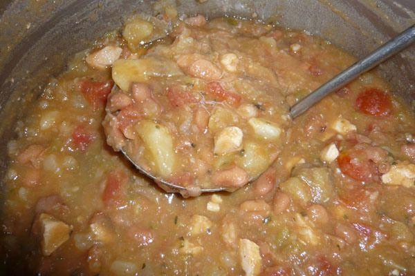 Green Chili Stew ~ chicken