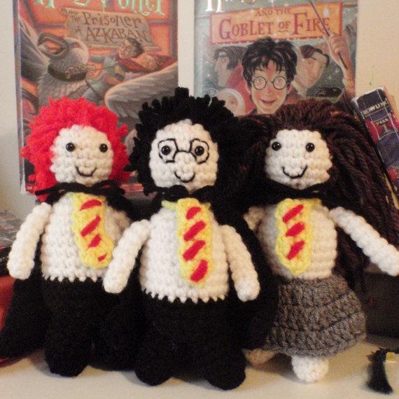Amigurumi Human Pattern Free : Harry Potter Amigurumi Sewing and Crocheting Pinterest