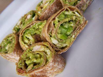 Turkey, Bacon, Avocado Tortilla Roll-Ups | Yummies | Pinterest