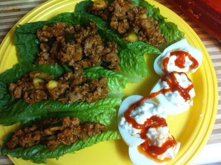 Thai Basil Turkey Lettuce Wraps Recipes — Dishmaps