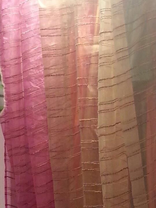 Textured Sheer Curtain Panels 72 Sheer Curtain Panels