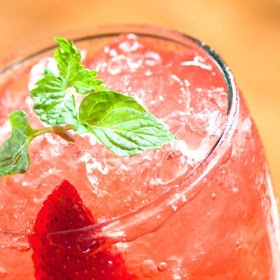 Homemade Strawberry Soda