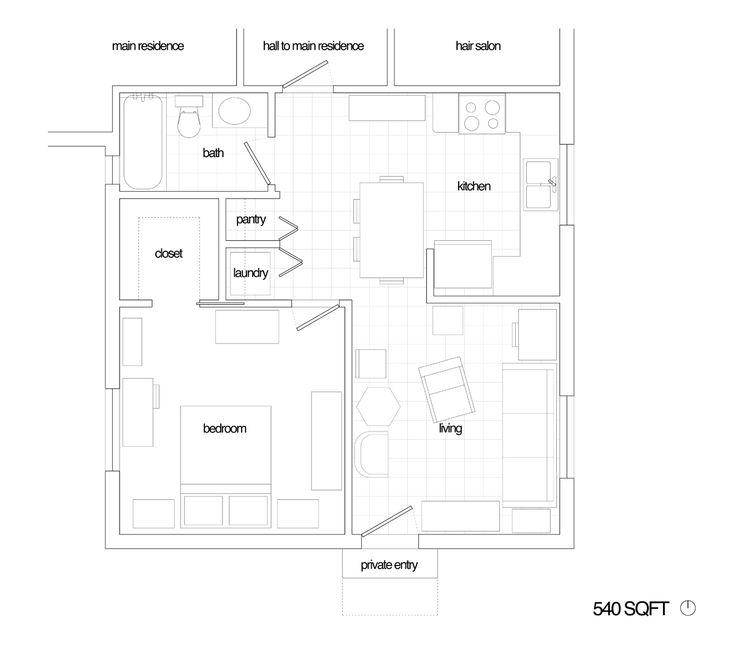 2 car garage conversion apt plans google search unique for Converting a garage into an apartment floor plans