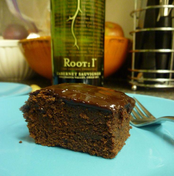 Red Wine Brownies | Recipe
