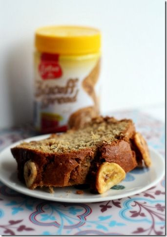 Crunchy Biscoff Banana Bread- - I want to make some healthier changes ...