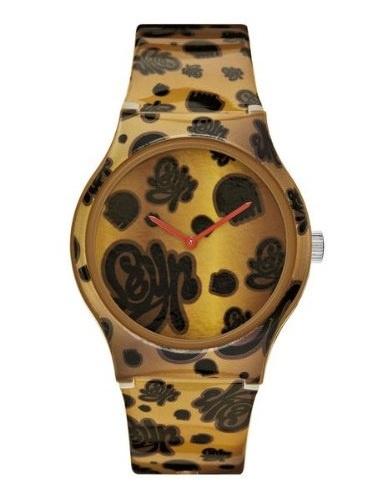 Marc Ecko Ladies Artifaks Leopard Watch Buy It http://www.everythingpeacock.com/267/marc-ecko-watches# #watches #fashion #ecko
