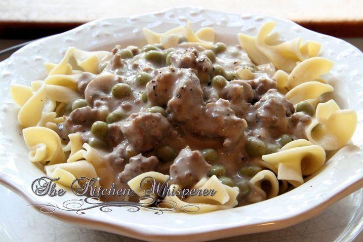 Mom's Ground Beef Stroganoff - The Kitchen Whisperer