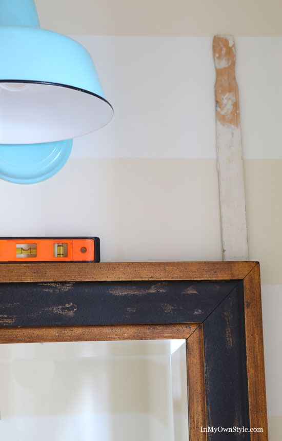 Hanging stuff on walls fast and easy with no extra nail holes - using ...