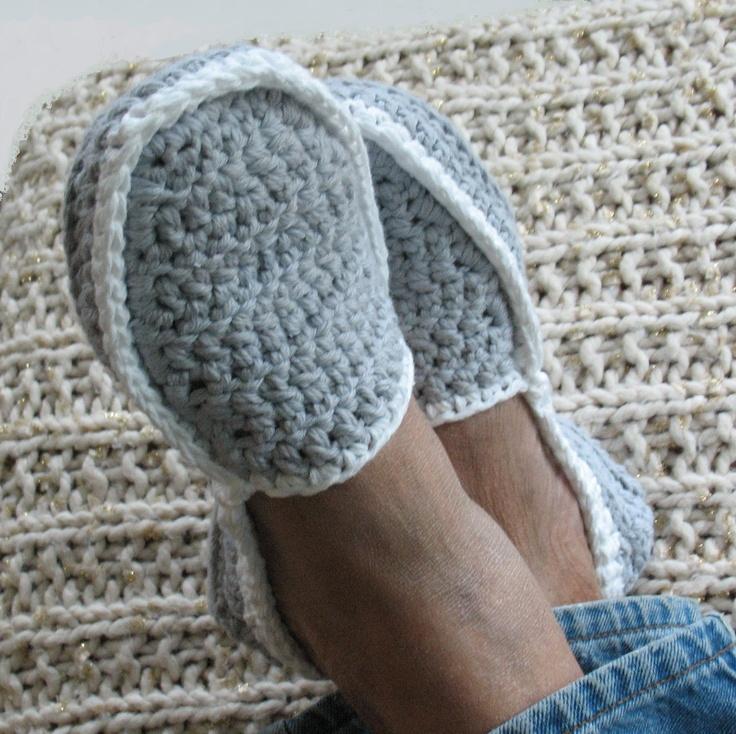 Crochet Mens House Shoes Free Pattern Dancox For