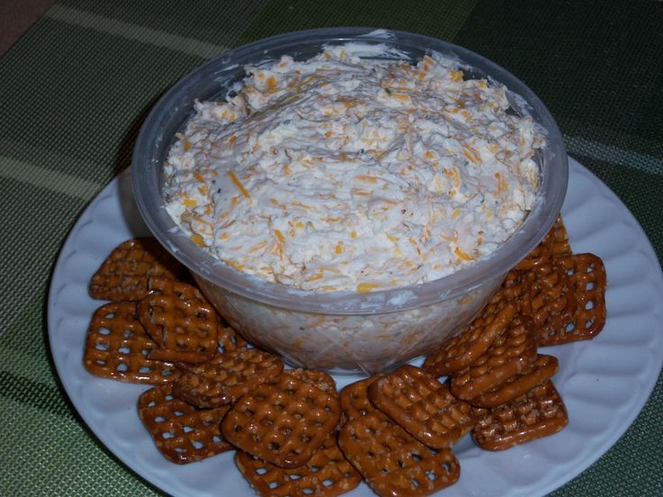 Beer Dip: Cream Cheese -- 16 ounces, Beer -- 1/3 cup, Ranch Salad ...