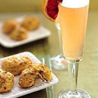 Blood Orange French 75 by Bon Appétit | Happy Hour | Pinterest