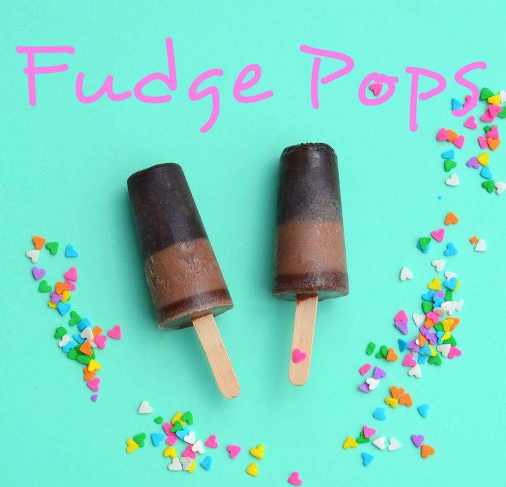 Fudge Pops Recipe | HoneyBear Lane