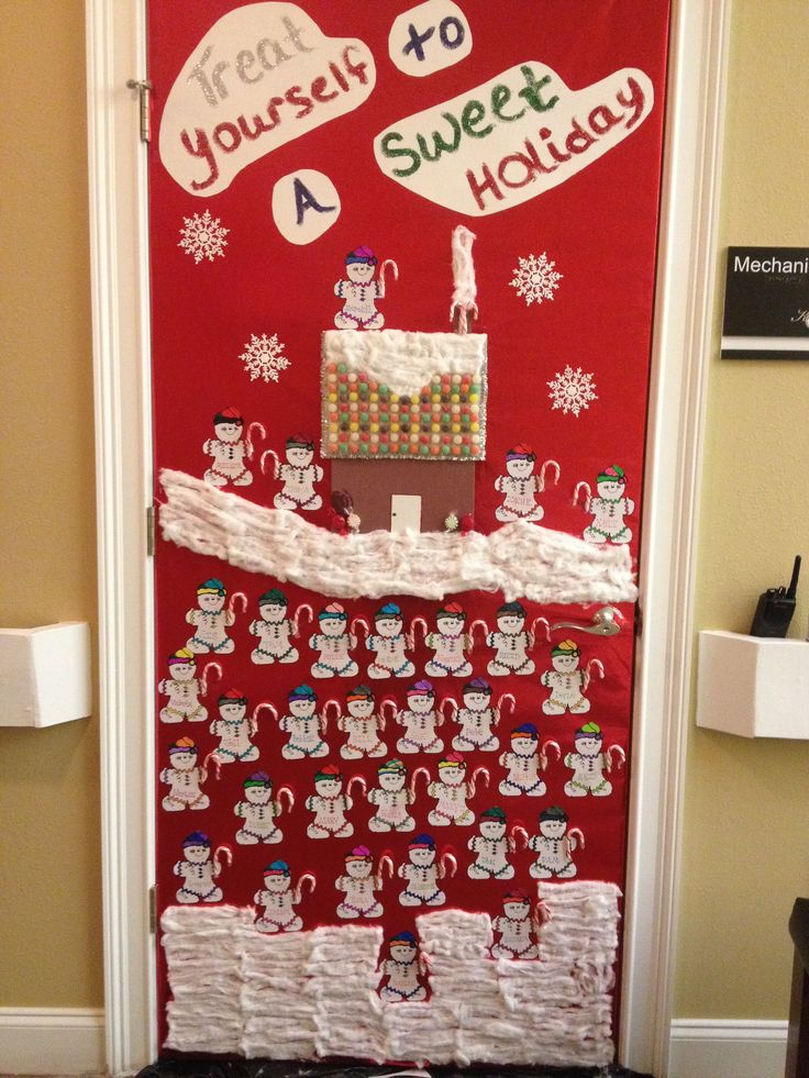 Door decorating contest at work!