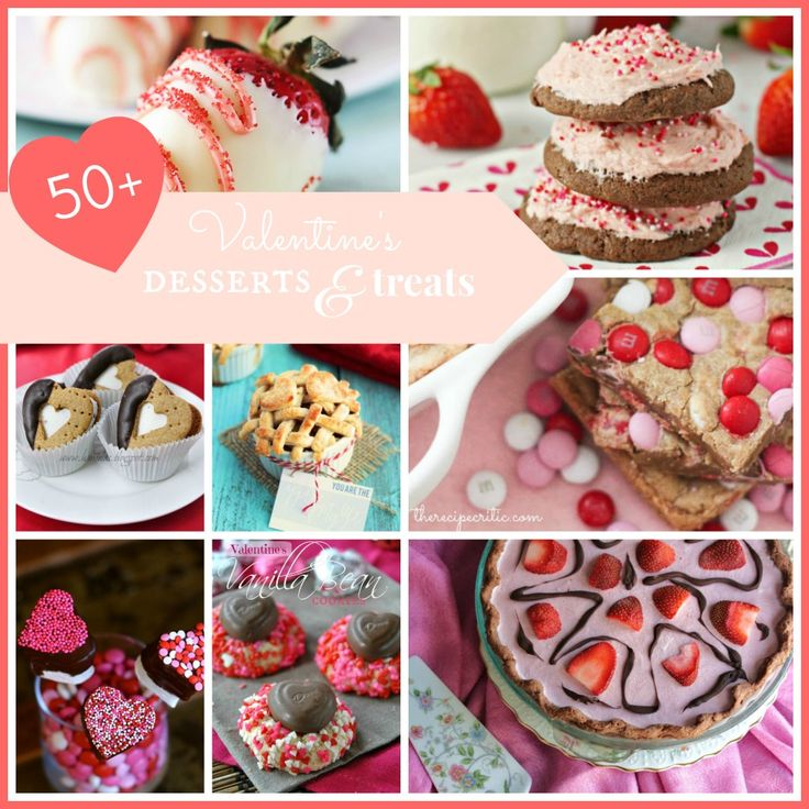 50+ Delicious Valentine's Day Treats at http://therecipecritic.com