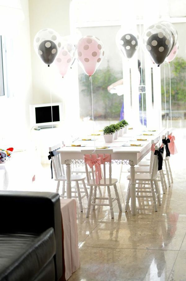 Pink Paris Party via Kara's Party Ideas | Seating Area
