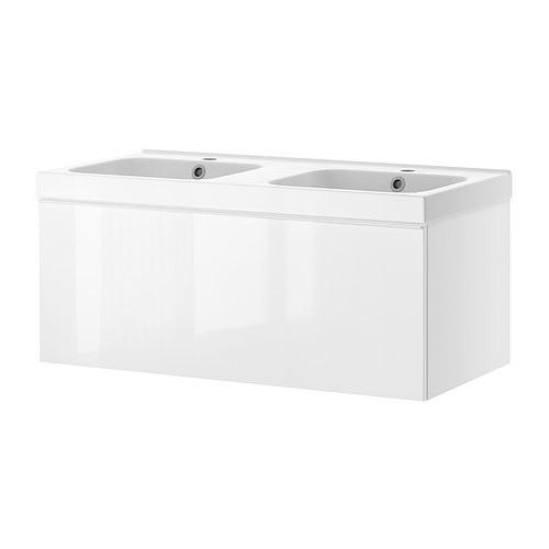 double sink bathroom cabinet ikea bathroom remodel pinterest