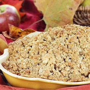 Fruit Crisp Topping Recipe | My favorite foods | Pinterest
