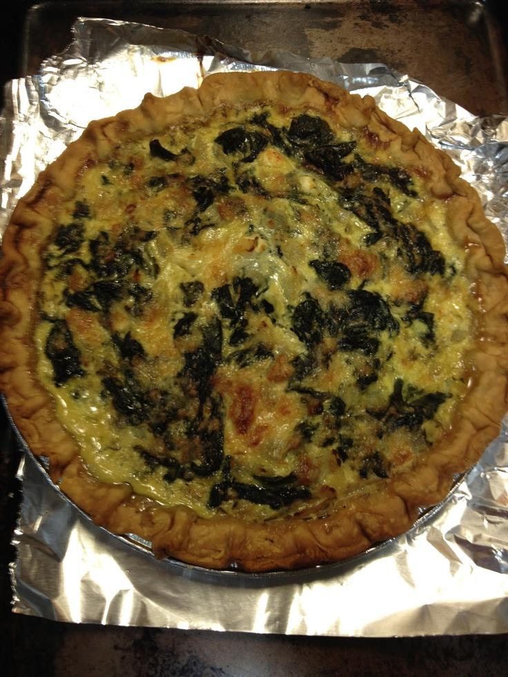 spinach pie   kitchen   Pinterest