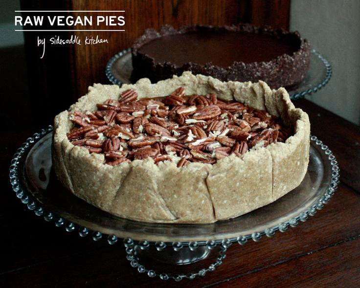 raw pecan pie | cakes | Pinterest