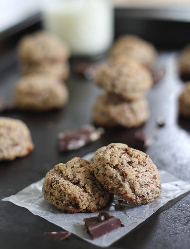 The perfect chocolate chip cookie, grain, gluten dairy free.