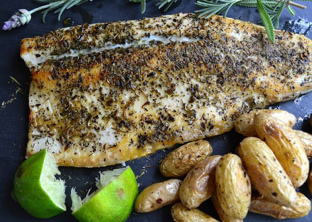 Pan Fried Trout with Herbes de Provence - The View from Great Island
