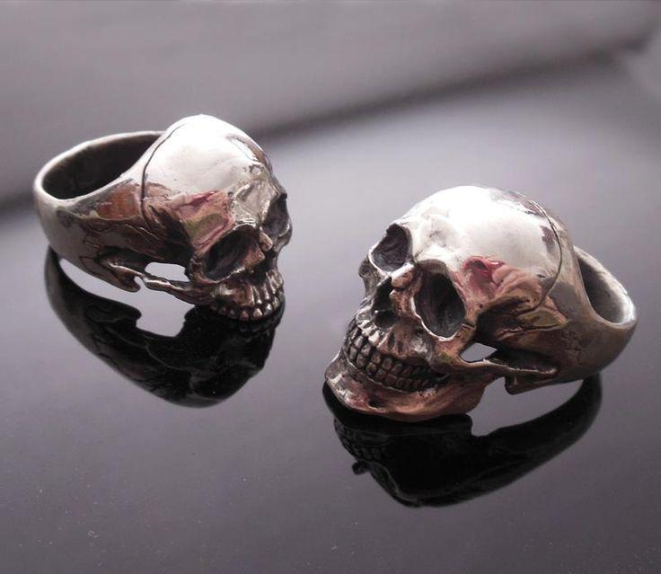 skull - Skull Wedding Ring