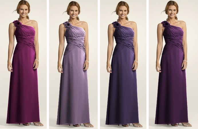 Davids Bridal Bridesmaid Dresses By Color - Overlay Wedding Dresses