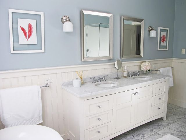 coral and gray bathroom bathrooms pinterest. Black Bedroom Furniture Sets. Home Design Ideas