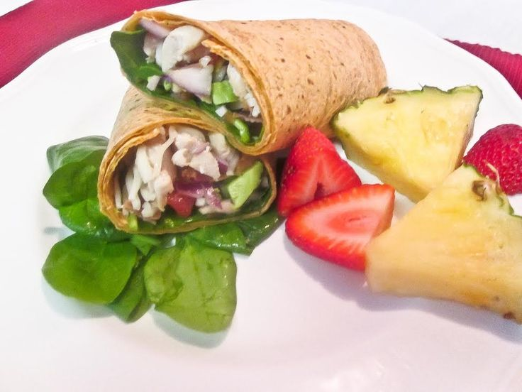 chicken, bacon & avocado tomato basil wrap. perfect for lunch!