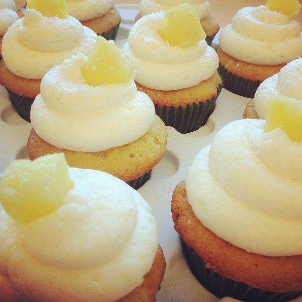 pina colada cupcakes | Cupcakes allover | Pinterest